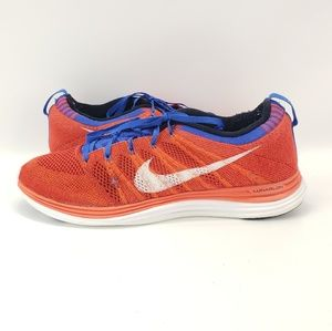 MENS NIKE FLYKNIT ONE LUNAR RUNNING SHOES SIZE 10.
